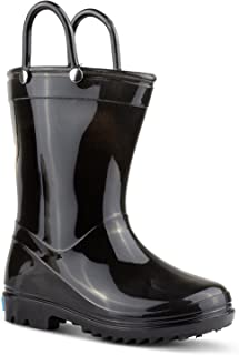 ZOOGS 儿童雨靴手柄,小童和学步儿童,男孩和女孩