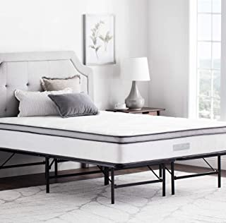 WEEKENDER 14 英寸折叠防水台床架 - 所有床垫类型的额外存储基座