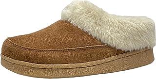 Clarks 其乐 女式人造毛皮洞洞鞋室内和室外拖鞋