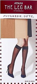 ATSUGI 厚木 THE LEG BAR 亮粉色 中筒袜 (3双装) FS30802 女士