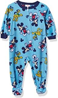 Mickey Mouse 迪士尼男孩假日连脚毯睡衣