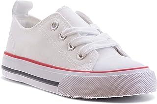 ZOOGS 时尚女童运动鞋,适合幼儿到大童 Triple White (V1) 11 Little Kid