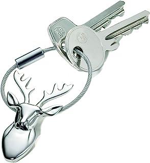 Troika 钥匙圈,5 厘米,银色 KR13-19/CH