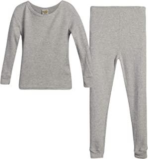 Sweet & Sassy 女童保暖内衣上衣和裤子 2 件套