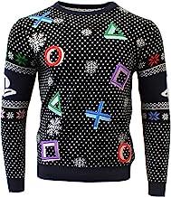 PlayStation Ugly 圣诞毛衣 符号 黑色 男女通用 男孩和女孩 查看图片 XX-Large