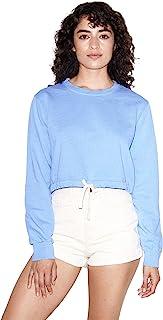 American Apparel 女式法式毛圈布线运动衫
