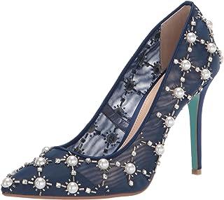 Betsey Johnson 女士 Sb-val 高跟鞋