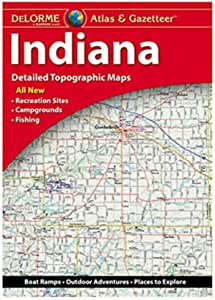 Garmin Atlas & Gazetteer - 印*安纳州