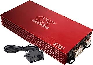 CT Sounds 限量版红色汽车音响放大器M-750.1 M-750.1