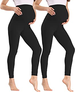 V VOCNI 孕妇打底裤,腹部加厚孕妇打底裤锻炼/休闲/睡衣/睡裤