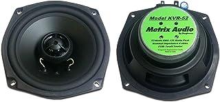Metrix Audio KVR-52 替换 5.25 英寸(约 13.3 厘米)4 欧姆前置扬声器适用于 2009 电流川崎 Vaquero 和 Voyager 型号 KVR-52