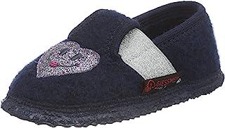 GIESSWEIN 儿童居家鞋 Thalmässing - 温暖女孩拖鞋   轻质羊毛毡拖鞋   灵活宽度   防滑乳胶鞋底   毛毡拖鞋
