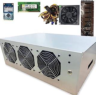 BitcoinMerch.com - Ready-to-Mine 110V-1200W 220V-1600W 8 GPU 挖矿机带主板 + CPU + RAM + SSD + PSU