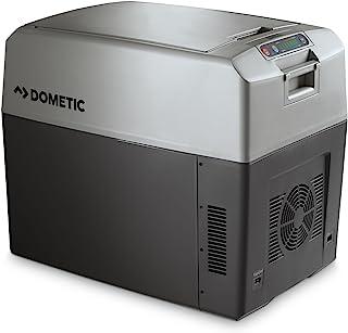 DOMETIC TropiCool TC 35FL 便携式电动冷藏箱/加热盒,33 升,12/24 V DC 和 220 - 240 V AC 适用于汽车、卡车、船、旅行车和插座