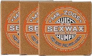 SEXWAX 萨芬 用 快速打蜡 4X 橙色 标签 3个装