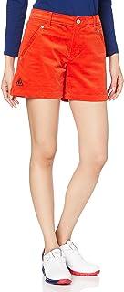 le coq sportif 高尔夫 [20年秋冬款] DESCENTE 女士东海经典 铃木爱专业 预定穿着 灯芯绒 短裤 弹力 QGWQJD51