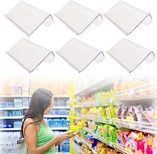 30 件亚克力标志架,L 形塑料线架标签架,迷你标志展示架台面支架透明亚克力价格卡标签标签(7.9 x 5.8 厘米)