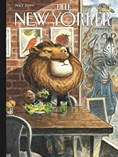 New York Puzzle Company - New Yorker A New Leaf - 500 片拼图玩具