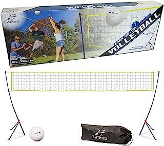 便携式三脚架排球网套装 简易安装游戏户外运动露营海滩 WLM8