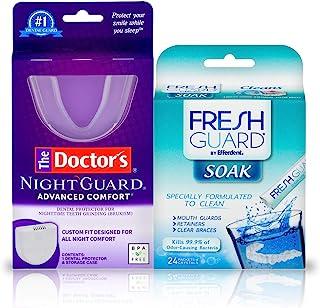 The Doctor's Advanced Comfort NightGuard & Fresh Guard 浸泡水晶套装