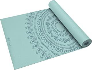 Gaiam Mat 瑜伽高级印花厚防滑锻炼健身所有类型普拉提地板锻炼运动垫