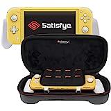 Satisfye - New Lite 超薄套装,灰色 - 兼容Nintendo Switch Lite 的配件 - 套…