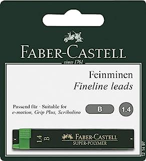 Faber-Castell 辉柏嘉 – 超聚合物细芯 1,4 mm B 2x12 Stück 1.4 mm