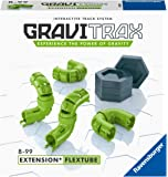 Ravensburger GraviTrax FlexTube 附加扩展配件 - 滚珠轨道和建筑玩具,适合 8 岁及以上…