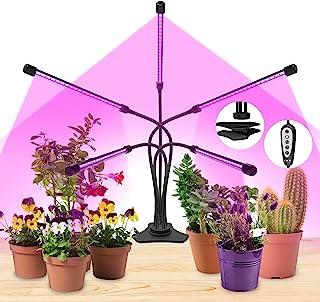 生长灯 室内植物灯 自动开/关定时器 (5 头)