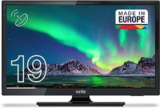 Cello C1920S 19英寸(47厘米对角线)HD Ready LED 电视带内置DVBT2 S2三重调谐器