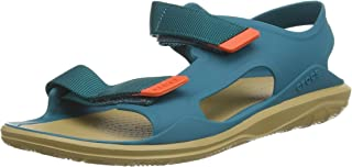 Crocs 女士 Swiftwater 远征模压露趾凉鞋 Swiftwater Expedition Molded