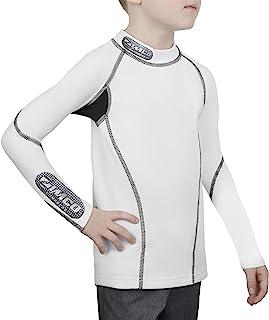 Zimco 男孩保暖压缩针织儿童打底裤多种运动冬季衬衫