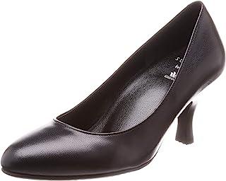 Wacoal 华歌尔 SUCCESS WALK系列 浅口皮鞋 圆头 鞋跟 7厘米 C~3E 山羊皮革 WFN760 女士