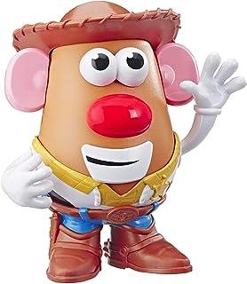 Hasbro 孩之宝 Playskool 土豆头先生 迪斯尼/皮克斯 《玩具总动员4》 里伍迪的Tater Roundup玩具,适合2岁以上的儿童