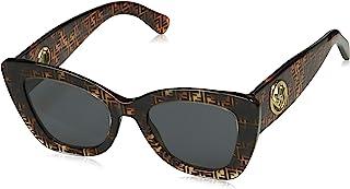 Fendi FF0327/S 086 深哈瓦那 FF0327/S 猫眼太阳镜镜片类别 3 Si