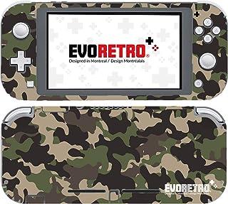 EVORETRO Nintendo Switch Lite 手机套 - 3M 乙烯基全包 Nintendo Switch Lite 手机套,开关配件 - 迷彩