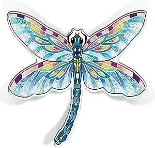 Amia,两件套蓝色蜻蜓,亚克力磁铁,多色