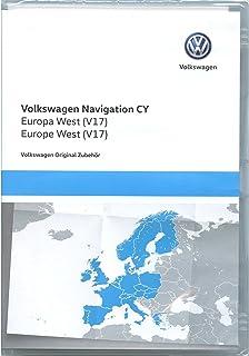 大众1T0051859AS 导航DVD-ROM CY Europa West V17,仅适用于RNS 510/810