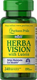 Puritan's Pride 普丽普莱 叶黄素, 北欧野生蓝莓软胶囊-240粒