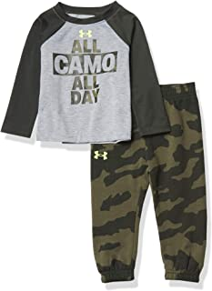 Under Armour 安德玛 男童 UA All Camo All Day 套装