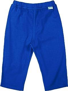 i play。 幼儿男孩瑜伽裤采用*棉制成,宝蓝色-24个月裤子
