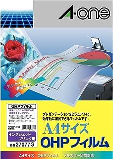 A-one OHP薄膜 インクジェット用 バリューパック(5枚)