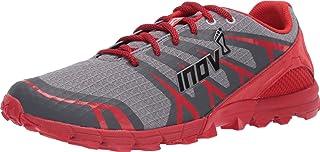 Inov-8 男式 Trailtalon 235 - 轻质越野跑鞋 - 灰色/红色