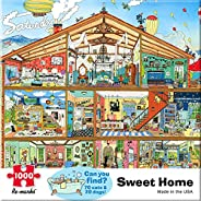 Re-marks Sweet Home 1000 Piece Puzzle