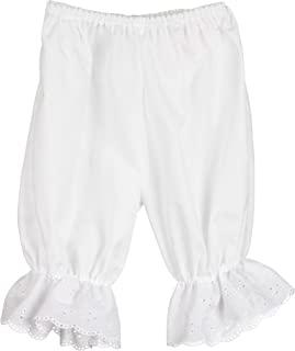 Little Zazzy 女婴白色连裤裙花朵内裤