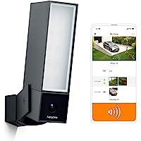 Netatmo 智能户外安全摄像头,带 105 dB 警报器,Wi-Fi,集成泛光灯,移动检测,夜视,免费,NOC-S…