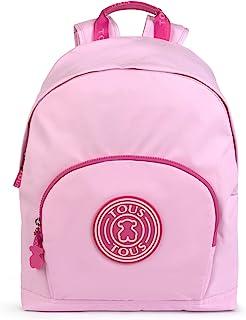 TOUS School 中号粉色背包