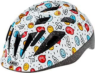 Abus 自行车头盔 Smooty 2.0 White Smiley S