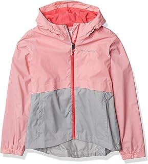 Columbia 女童 Rain-Zilla 反光防水夾克