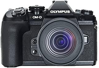 Olympus 奥林巴斯 OM-D E-M1 Mark II 微四轴系统相机套件包括 M.*ko Digital ED 12-45mm F4 PRO 镜头,20MP 传感器,5 轴图像稳定,功能强大的自动对焦,4K 视频,黑色